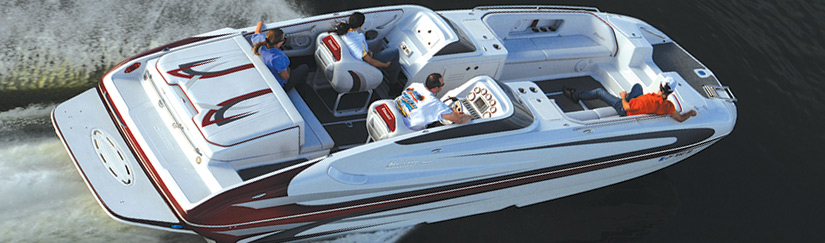 Deck Boats | Hallett Boats