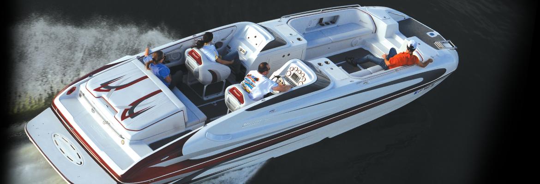 Hallett Boats   Live the Legend